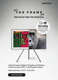 Saturn The Frame - Die Kunst des Fernsehens Januar 2018 KW01 1