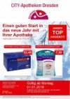 CITY-Apotheke in Dresden Einen guten Start in das neue Jahr mit Ihrer Apotheke Januar 2018 KW01