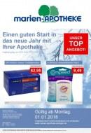 Marien Apotheke Einen guten Start in das neue Jahr mit Ihrer Apotheke Januar 2018 KW01
