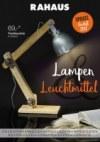Rahaus Lampen & Leuchtmittel Januar 2018 KW02