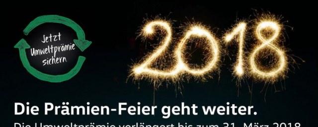 Volkswagen Die Prämien-Feier geht weiter Januar 2018 KW01 1