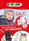 BabyOne Viele Artikel bis zu 70% reduziert Januar 2018 KW02