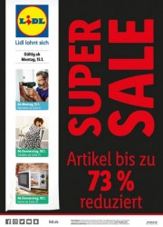 Lidl SUPER SALE Januar 2018 KW03 1