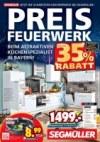 Segmüller Preisfeuerwerk - schärfste Küchenpreise Januar 2018 KW03