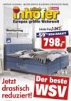 Möbel Inhofer Der beste WSV Januar 2018 KW03