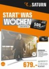 Saturn Start was Wochen Januar 2018 KW03 5