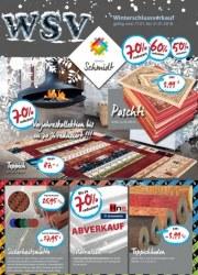 Teppich Schmidt Winterschlussverkauf Januar 2018 KW03