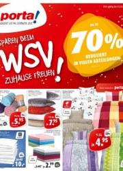 Porta Möbel Sparen beim WSV! Zuhause freuen Januar 2018 KW03 5