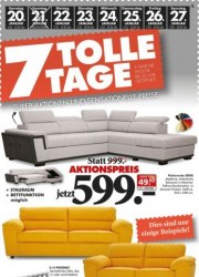 Seats and Sofas 7 tolle Tage Januar 2018 KW03