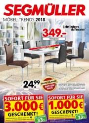 Segmüller Möbel-Trends 2018 Januar 2018 KW04 2