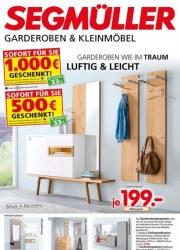 Segmüller Segmüller: Garderoben & Kleinmöbel Januar 2018 KW04