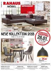 Rahaus Neue Kollektion 2018 Januar 2018 KW04