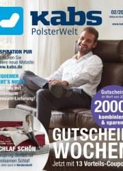 Kabs Polsterwelt Gutscheinwochen - Jetzt mit 13 Vorteils-Coupons Januar 2018 KW04
