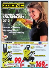 ZGONC Handel GmbH Reinigungssonderliste 2012 Juli 2012 KW31