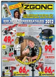 ZGONC Handel GmbH Werkzeugkatalog 2012 September 2012 KW36