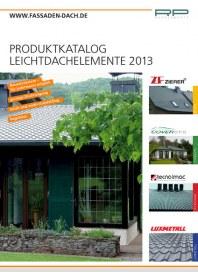 Prospekte Leichtdachsysteme November 2013 KW47