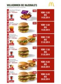 McDonalds Mcdonalds Prospekt KW07 Februar 2014 KW07