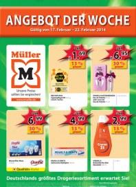 Müller Müller Prospekt KW08 Februar 2014 KW08