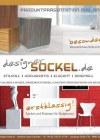 Prospekte Designersockel Deutschland - Ihr größter Lieferant für Haus- und Messesockel Mai 20-Seite1