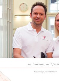 Prospekte DOCTORS FASHION ® - Markenmode für Arzt und Ordination August 2014 KW32