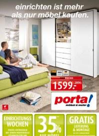Porta Möbel Porta Möbel Prospekt KW32 August 2014 KW32