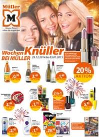 Müller Müller Prospekt KW01 Dezember 2014 KW01