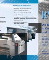 Prospekte Produkte der KVT GmbH (Quetschventile, Gaerbehaelter, Weinpressen) Juli 2015 KW29
