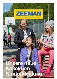 Zeeman Zeeman Prospekt KW 33 August 2015 KW33