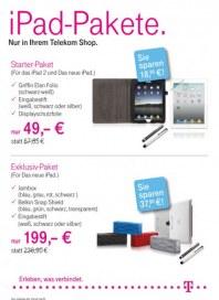 Telekom Shop iPAD Pakete März 2012 KW13