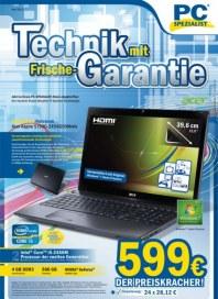 PC-SPEZIALIST Technik mit Frische-Garantie April 2012 KW13