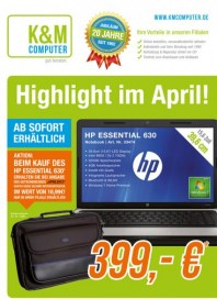 K&M Computer Highlight im April April 2012 KW13