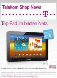 Telekom Shop Top-Pad im besten Netz April 2012 KW14