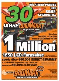 Globus Baumarkt Mit riesigem Gewinnspiel April 2012 KW14