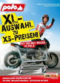 Polo XL-Auswahl zu XS-Preisen Januar 2012 KW03