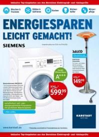 KARSTADT Karstadt Technik - Energiesparen März 2012 KW13