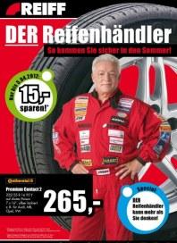 REIFF Reifen und Autotechnik GmbH So kommen Sie sicher in den Sommer März 2012 KW13