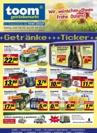 Toom Getränke Getränke-Ticker März 2012 KW13