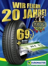 Euromaster Wir Feiern Geburtstag, 20 Jahre! Im Jahr 2012 April 2012 KW14