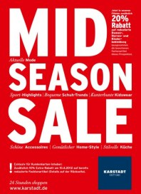 KARSTADT Mid Season Sale April 2012 KW15