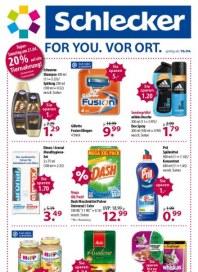 SCHLECKER Super Angebote, super Preise April 2012 KW16