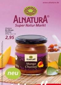 Alnatura Super Natur Markt April 2012 KW16