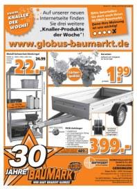 Globus Baumarkt Knaller der Woche Mai 2012 KW19