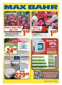 Max Bahr Angebote der Woche April 2012 KW18