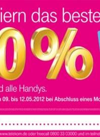Telekom Shop Wir feiern das beste Netz Mai 2012 KW19