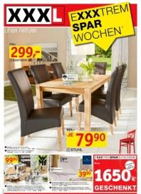 XXXL Möbelhäuser Exxxtrem Spar Wochen April 2012 KW17