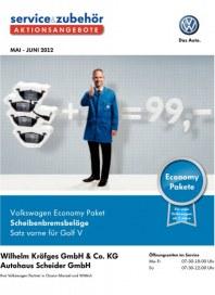 Volkswagen Aktionsangebote Mai 2012 KW18