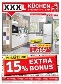 XXXL Möbelhäuser Zusätzlich 15 % Extra Bonus Mai 2012 KW19