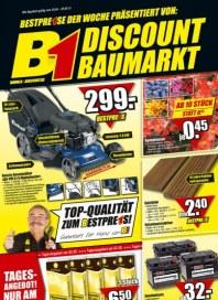 B1 Discount-Baumarkt Bestpreise April 2012 KW17 2