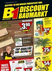 B1 Discount-Baumarkt Tages-Angebote Mai 2012 KW18
