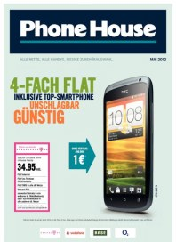 Phone House 4-Fach Flat! Im Mai 2012 Mai 2012 KW18